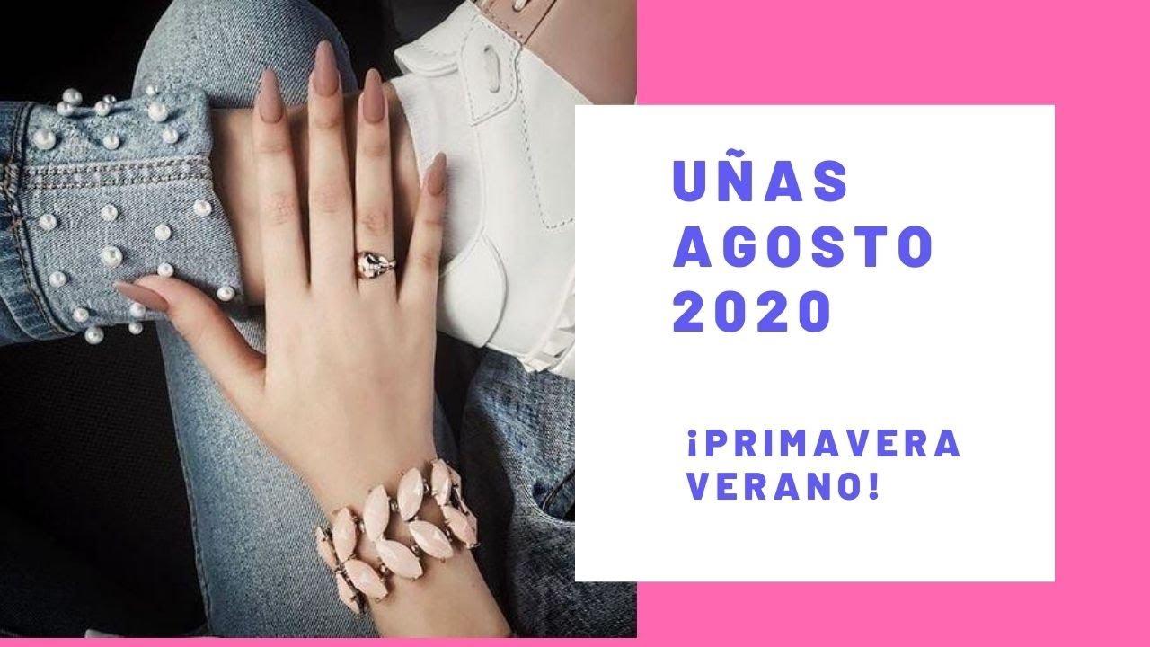 Tendencia Uñas Agosto 🔥/ 2020 Trendy nails august / trend paznokci #tendencia #uñas