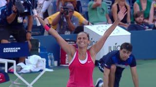 US Open 50 Moments That Mattered: Roberta Vinci Stuns Serena Williams