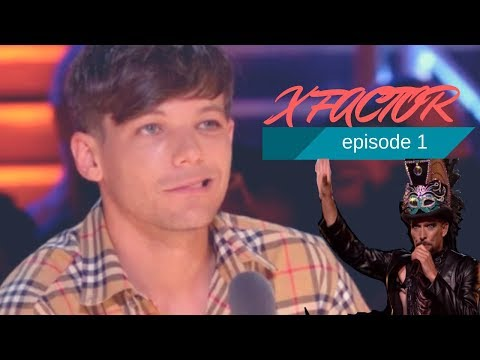 LOUIS TOMLINSON AT THE X FACTOR | All moments week 1