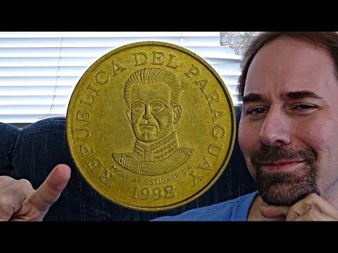 Paraguay 50 Guaranies 1998 Coin