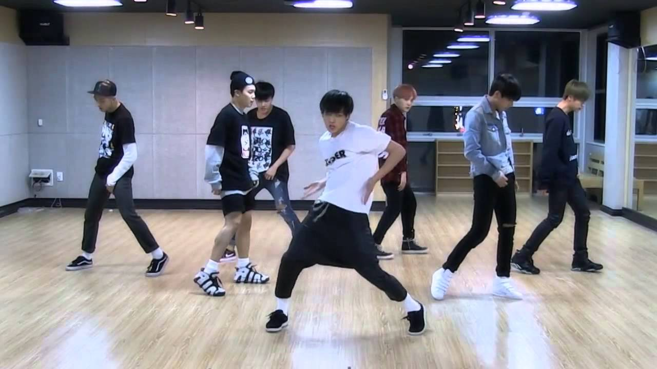 BTS 'I Need U' mirrored Dance Practice