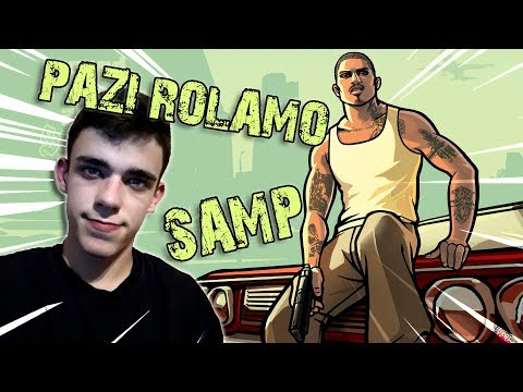 PAZI ROLAMO NA CRVENO NE STAJEMO /Grand The Auto San Andreas Mp