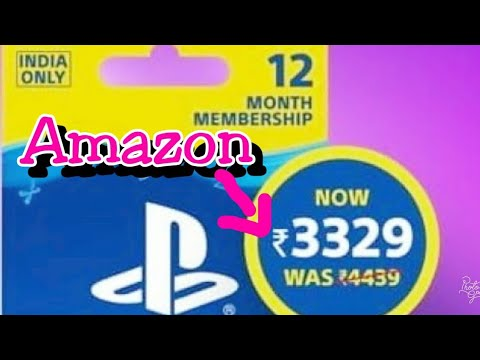 how-to-purchase-playstation-plus-12-month-membership-card-on-amazon