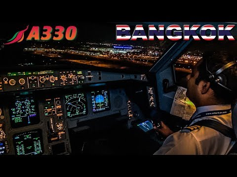 Piloting the Airbus A330 into Bangkok