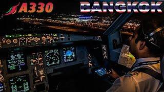 Piloting the Airbus A330 into Bangkok