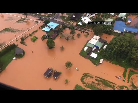 Video Captures Flooding After Hawaii Storms
