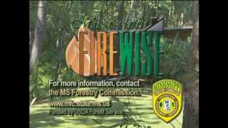 Firewise PSA Mississippi Forestry Commission