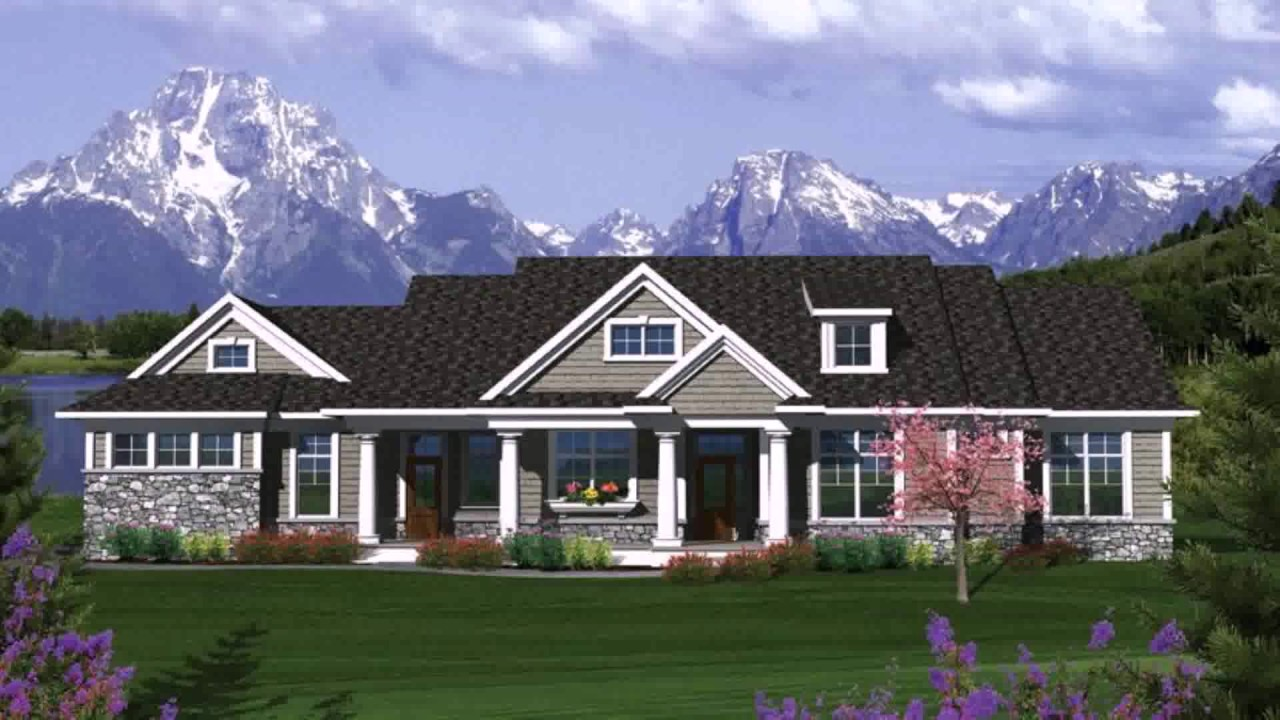 Ranch style house garage addition youtube for Ranch style house with garage