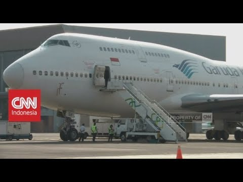 Garuda Indonesia Tunda Sewa Pesawat