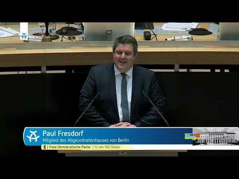 Aktuelle Stunde und Fragestunde vom 16.11.2017   Abgeordnetenhaus Berlin