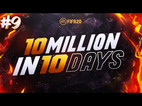 10,000,000 IN 10 DAYS TRADING CHALLENGE | DAY 9