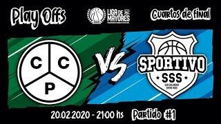 Liga Provincial de Mayores- Cuartos de Final: Ciclista vs Sportivo