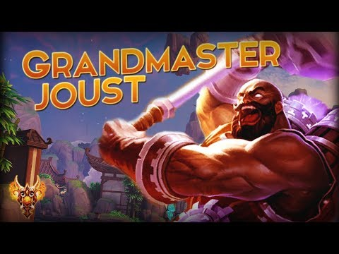 Smite: GrandMaster Ranked Joust #1 VULCAN IN THE WORLD