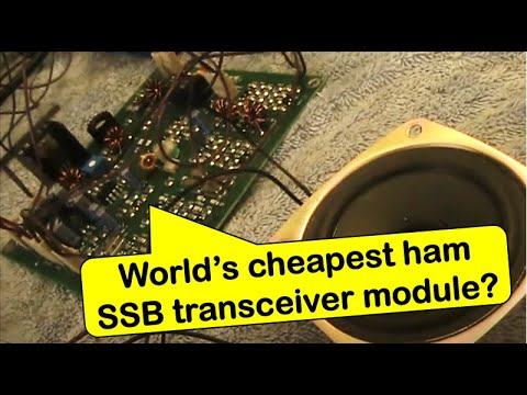 Review: Low cost Bitx40 7 MHz SSB transceiver module