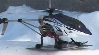 Litehawk XL R/C Helicopter outdoor flight and music video