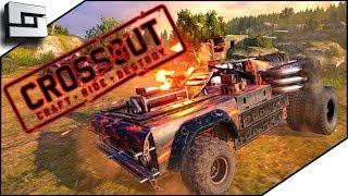 Amazing Vehicle Battle Game! Crossout Gameplay!