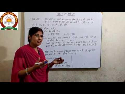 Class 4,5,6,7 Hindi Grammar Part 1  Mountain View Prep School