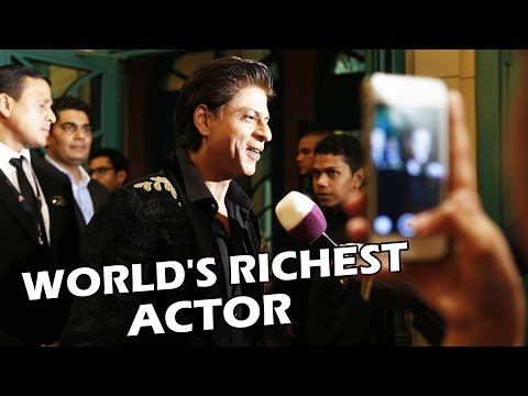 Shahrukh Khan Becomes 2nd RICHEST Actor In The World  - $750 Million Net Worth