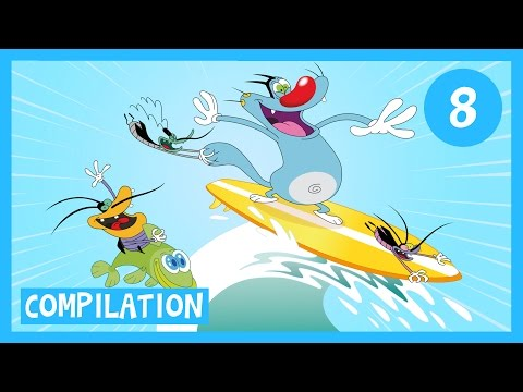 Oggy and the Cockroaches - Holidays Compilation - Full Episodes in HD