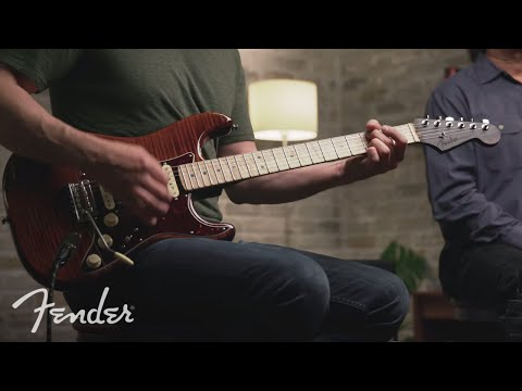 The Flame Maple Top Stratocaster Demo  Rarities Collection  Fender