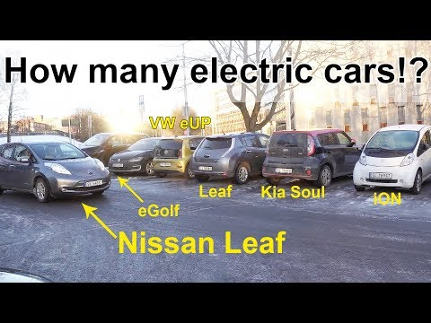 NORWAY'S LOVE OF ELECTRIC CARS