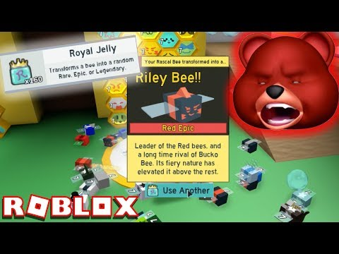 I HATE ROYAL JELLY + 1 BILLION HONEY!! | ROBLOX BEE SWARM SIMULATOR