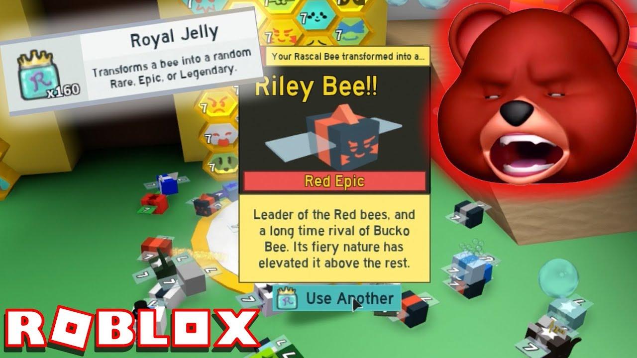 I Hate Royal Jelly 1 Billion Honey Roblox Bee Swarm