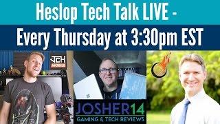 heslop tech talk live 2 23 17 part 2 lg g6 mwc coverage amd ryzen more
