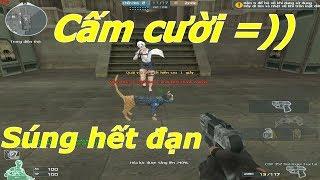 [ Bình Luận CF ] Troll đổi súng mèo ( Cat Gun ) hết đạn - Tiền Zombie v4
