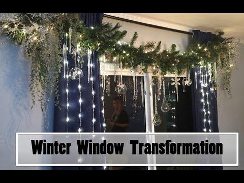 Interior Design | Winter Window Transformation