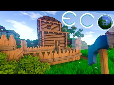 Eco - Il nuovo erede di Minecraft?? - Ep 1