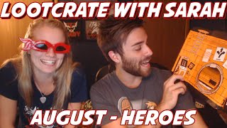 Loot Crate Opening - August 2014 - Heroes! With Shady Lady!