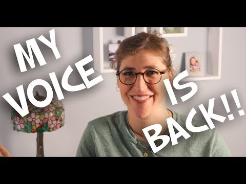 My Voice Is Back!!