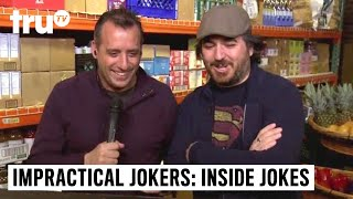 Impractical Jokers: Inside Jokes - Mystery Item Challenge: Murr vs. Sal | truTV