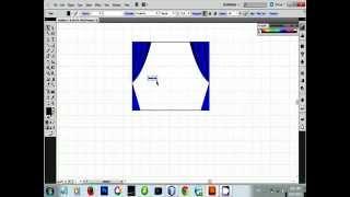 3D Curtain Making (Adobe illustrator)
