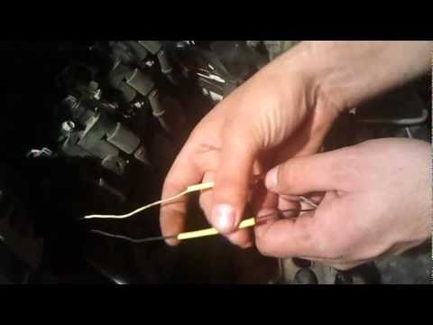 alternator wiring hook up
