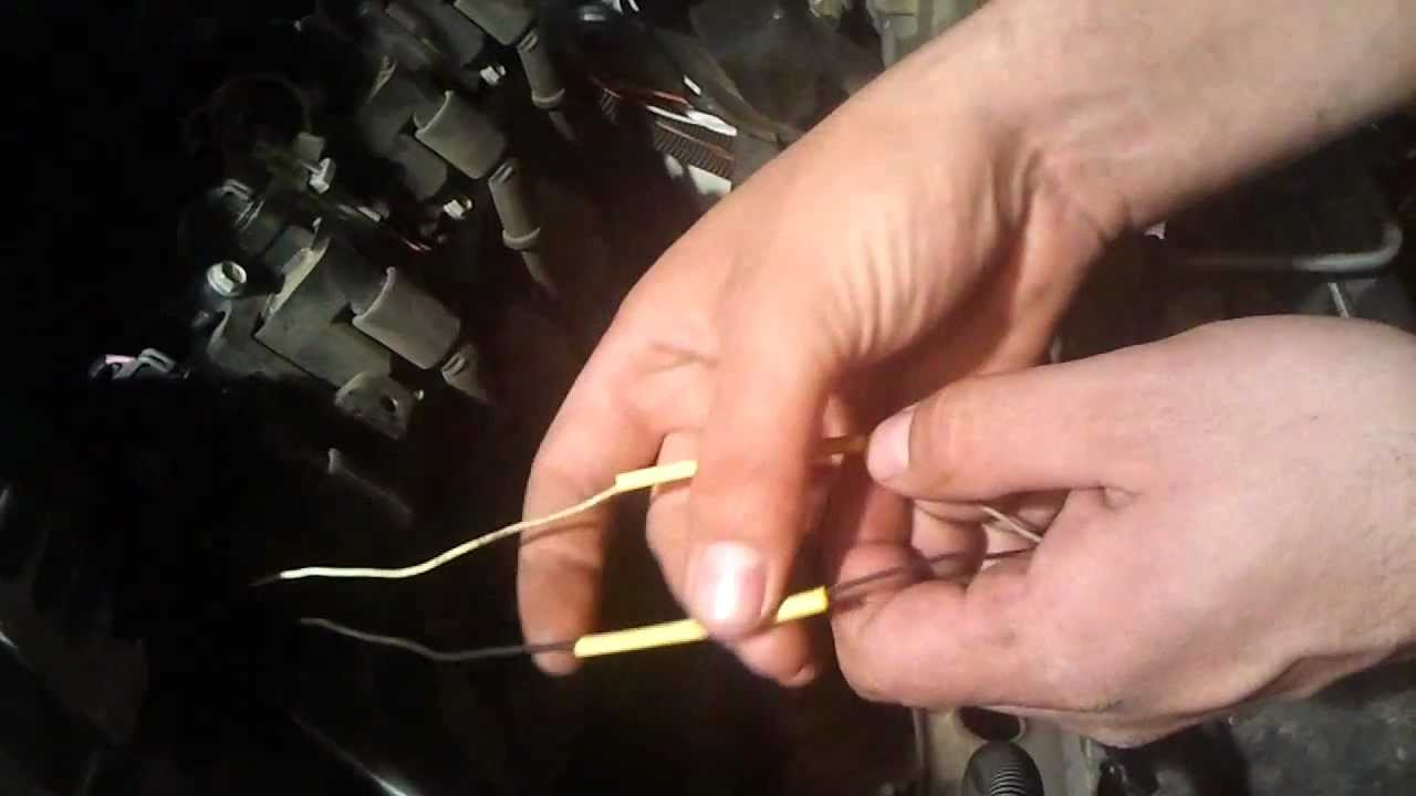 Correct Temp Sensor Sender For Ls1 Lsx 48 53 60 Obs Swap Youtube Cts V Lsa Wiring Diagram