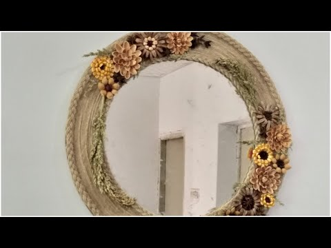 How to make creative wall mirror