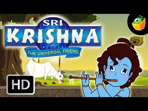 Sri Krishna Full Movie In English (HD) - Compilation Of Cartoon/Animated Stories For Kids