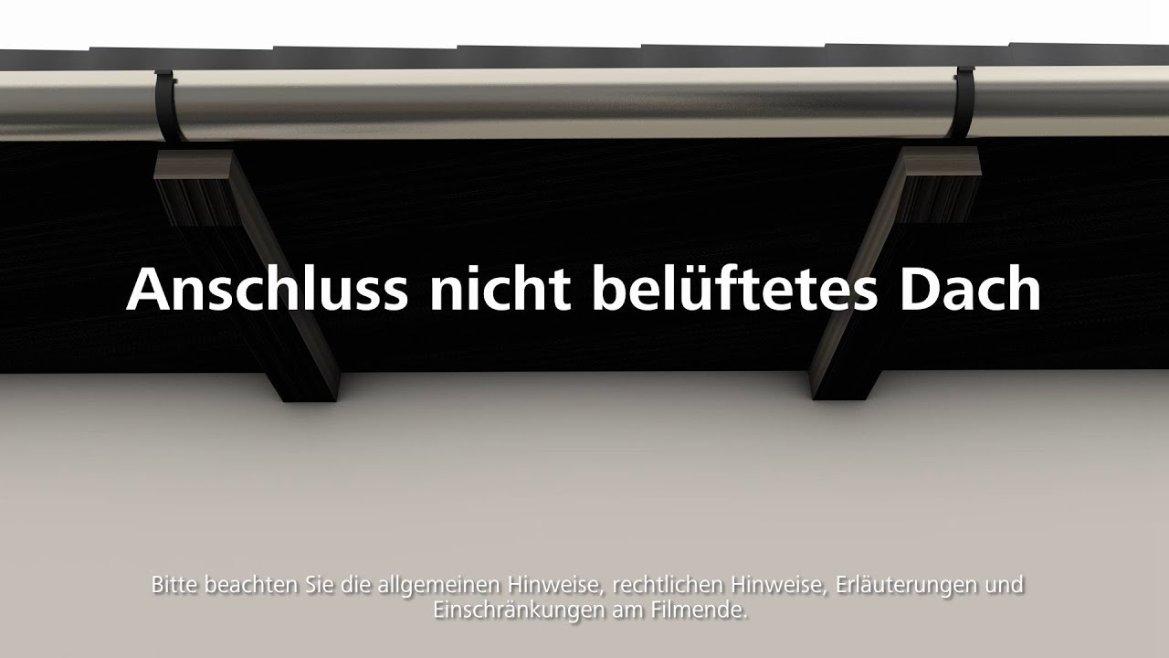 anschluss fassade dach w rmed mmung wdvs fassadend mmung verarbeitung youtube. Black Bedroom Furniture Sets. Home Design Ideas