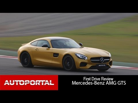 Mercedes-Benz AMG-GT S Test drive - Autoportal