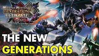 51 Minutes of Monster Hunter Generations Ultimate Demo Gameplay   Beta Run