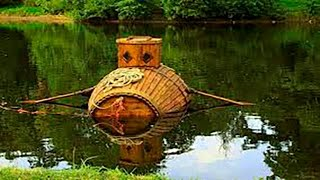 первая подводная лодка в мире!история её создания