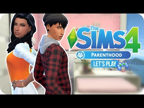 Sims 4 Parenthood Mini Let's Play   EP 2 - SKIPPING CURFEW & BATTLING MOOD SWINGS