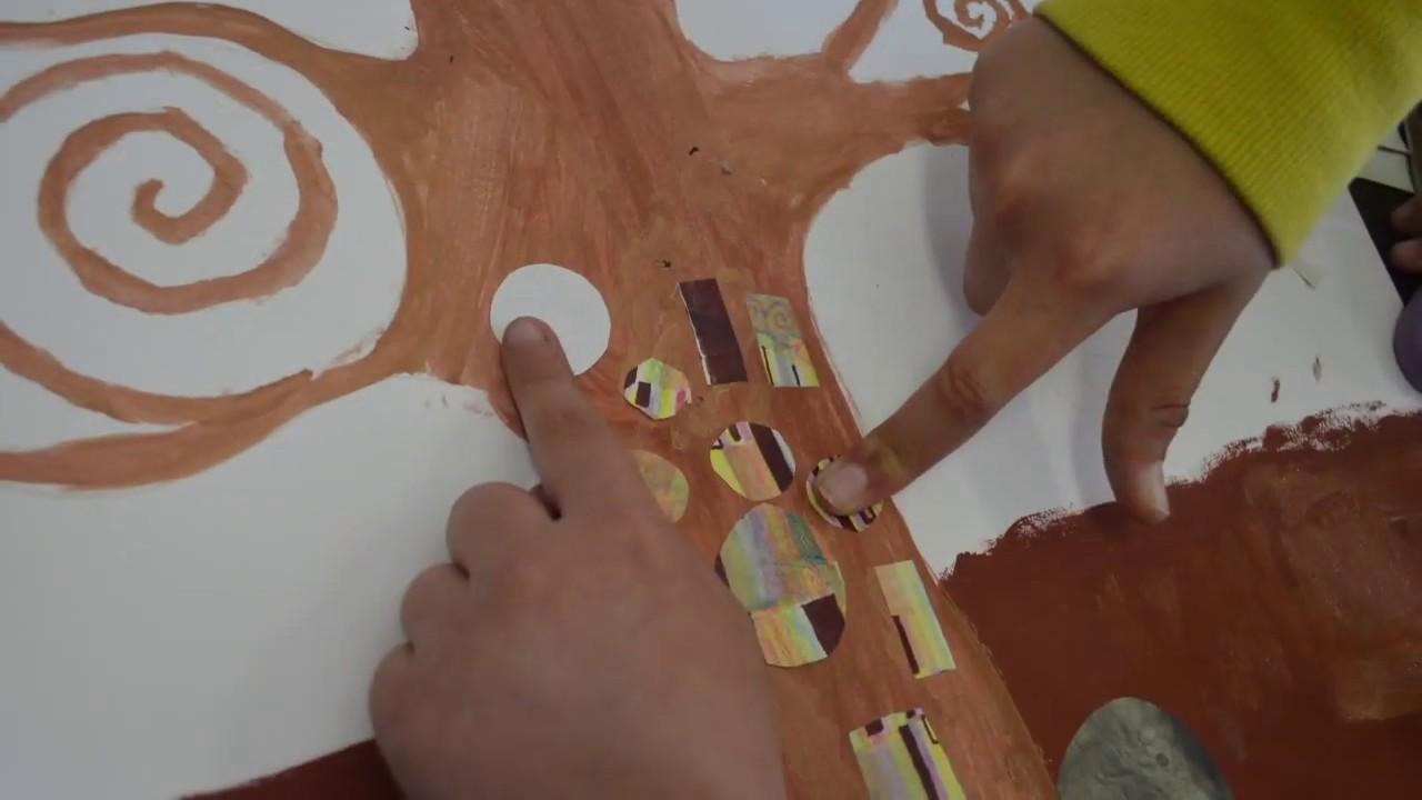 L Albero Della Vita Di Klimt Laboratorio Di Pittura Per