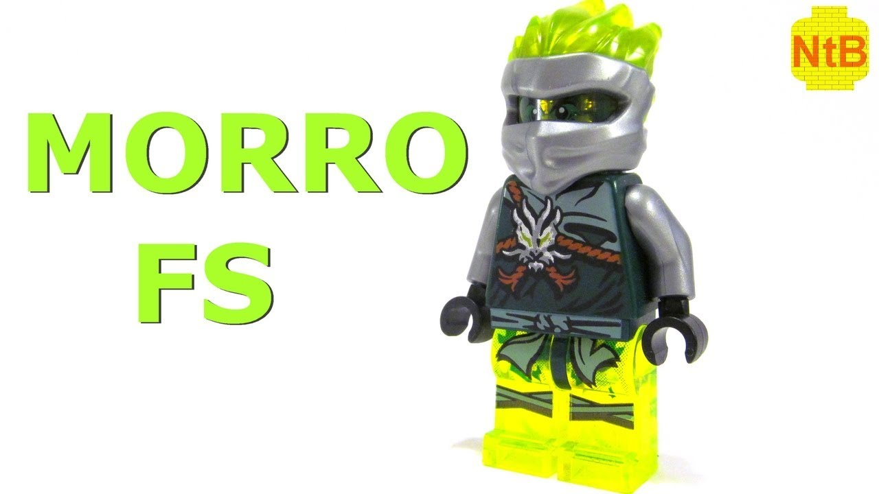 lego ninjago build fs morro custom minifigure  youtube
