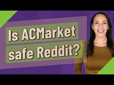 Is ACMarket safe Reddit?