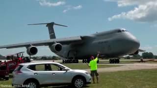 USAF Lockheed C-5M Super Galaxy Wittman Regional Airport - Oshkosh 2016