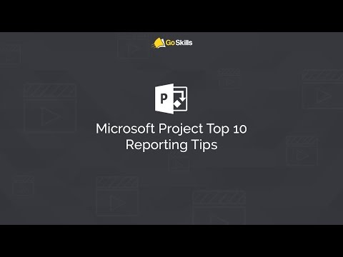 Microsoft Project Top 10 Reporting Tips with Bill Raymond