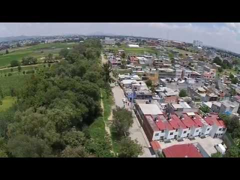 Video Dron La Perla Cuautitlán Izcalli Mexico Agosto 30 2015 / 1